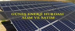 gunes enerji hurdasi alim satim